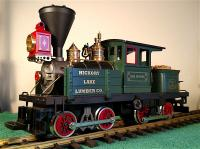 Hickory Lake Lumber Co. Dampflokomotive (Steam locomotive) - Paul Bunyan