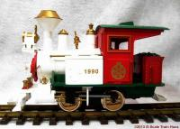 Weihnachtszug Dampflokomotive (Christmas set steam locomotive) 1990