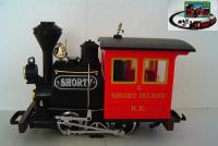 Short Island RR Dampflok (Steam locomotive) 4