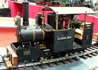 Lumber Jack Dampflok (Steam locomotive)