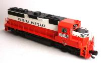 Western Maryland EMD GP-40 Diesel Lokomotive (Diesel locomotive) 3795