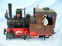 Dampflok vom Lebkuchen Set (Steam locomotive of the Lebkuchen set)