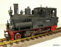 DR Dampflok - gealtered (Steam Locomotive - weathered) Spreewald