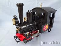 Alpenland Express Dampflok (Steam locomotive)