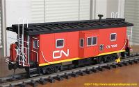 Canadian National Bay Window Caboose 76588