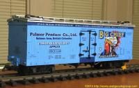 Palmer Produce Company Ltd. Big Chief Canadian Apples Kühlwagen (Reefer) PPCX 1149