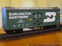 Burlington Northern Kühlwagen (Reefer) BN 205891
