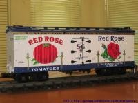 Scudders-Gale Red Rose Tomatoes Kühlwagen (Reefer)