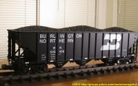 Burlington Northern Hopper 526406