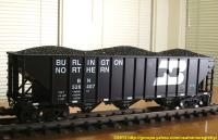 Burlington Northern Hopper 526407