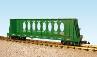 Burlington Northern Flachwagen mit Mittelverstrebung (Center beam flat car)
