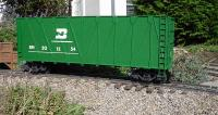Burlington-Northern Woodchip Gondola