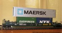 BNSF Intermodal Container Wagen (Container car) 12031