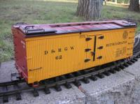 D&RGW Kühlwagen (Refrigeration car)