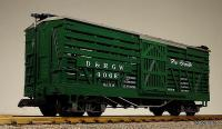 D&RGW Viehwagen (Livestock car) Version 5