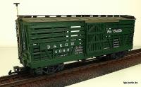 D&RGW Viehwagen (Livestock car) Version 8