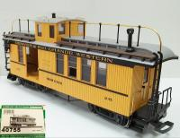 D&RGW Coach & Baggage car (Drover's caboose) 215
