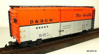 D&RGW™ Steel Boxcar