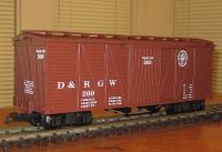 D&RGW Güterwagen (Box car) 269