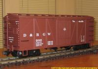 D&RGW Güterwagen (Box car) 266
