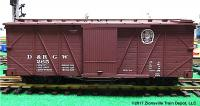 D&RGW Güterwagen (Box car) 265