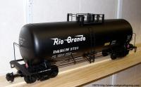 D&RGW. 42-foot Kesselwagen (Tank car) 3721