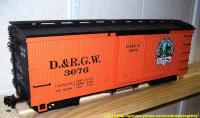 D&RGW Güterwagen (Box car) 3076