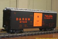 D&RGW Güterwagen (Box car) 67424