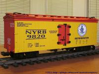 NYC Early Bird Kühlwagen (Reefer) NYRB 9820