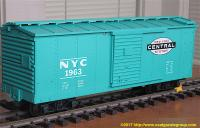 New York Central Güterwagen (Box car) NYC 1963