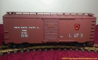 PRR 40-Ft gedeckter Güterwagen (Box car) 87001