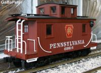 Caboose der Pennsylvania Railroad