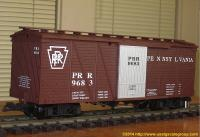 PRR Güterwagen (Box car) 9683