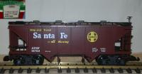 Santa Fe Selbstentladewagen (Covered Hopper) 167121