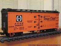 Santa Fe - Texas Chief Kühlwagen (Reefer) ATSF 30057