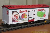 "Santa Fe ""The Chief Way"" Kühlwagen (Reefer) 995"