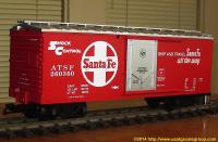 Santa Fe Güterwage (Box car) 260360