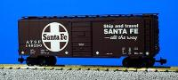 Santa Fe 40-Fuß Stahlgüterwagen (40 Foot Steel box car)