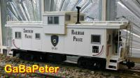 "Caboose der Southern Pacific ""Railroad Police"" 01482"