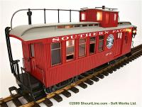 Southern Pacific Drovers Caboose, SP 467