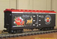 Southern Pacific Weihnachts-Kühlwagen (Christmas reefer) 2014
