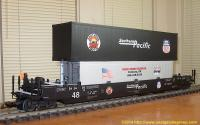 Southern Pacific Intermodal Container Wagen (Container car) 060307