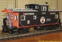 "Southern Pacific ""Extended Vision"" Caboose, 2009, linke Seite (left side)"
