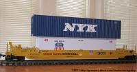 Union Pacific Intermodal Container Wagen (Container car) 77372