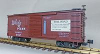"WP&Y Box Car 102 ""Brackett Road"" (rechte Seite/ right hand side)"