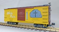 "WP&Y Box Car 103 ""Black Cross Rock"" (rechte Seite/ right hand side)"