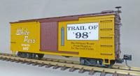 "WP&Y Box Car 107 ""Trail of '98' "" (rechte Seite/ right hand side)"