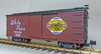 "WP&Y Box Car 109 ""Gateway to the Yukon"" (rechte Seite/ right hand side)"