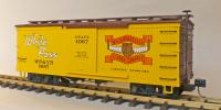 "WP&Y Box Car 1087 ""White Pass & Yukon Lumber"" (rechte Seite/ right hand side)"