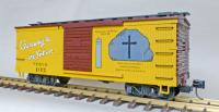 "WP&Y Box Car 103 ""Black Cross Rock"" (linke Seite/ left hand side)"